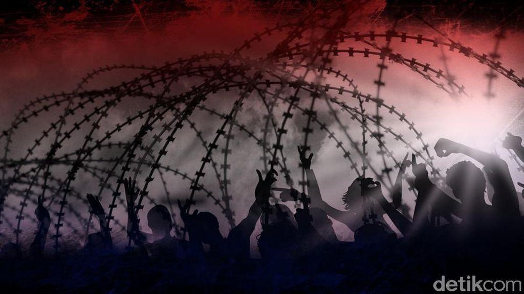 Ricuh Final Copa Sudamericana, Polisi Huru-hara Turun Tangan