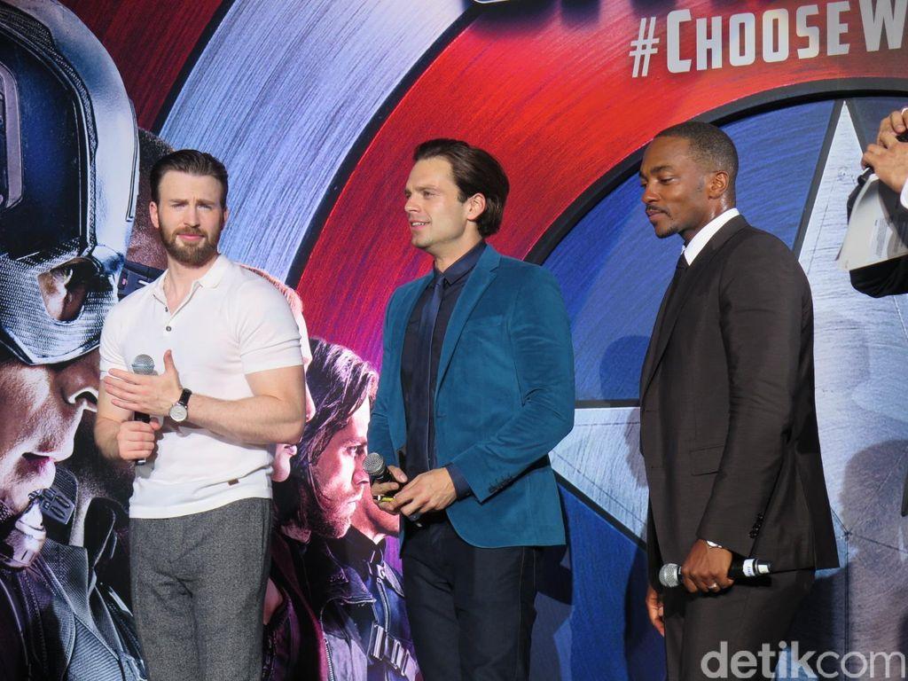 Bromance Alert! Persahabatan Antara Captain America, Bucky dan Falcon