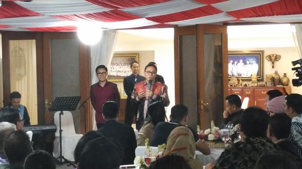 Julia Perez Sampai Ayu Tingting Hadiri Sosialisasi 4 Pilar di Rumah Ketua MPR