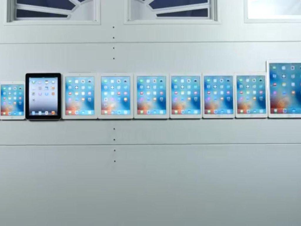 Jajaran iPad Diuji, Mana yang Lebih Unggul?