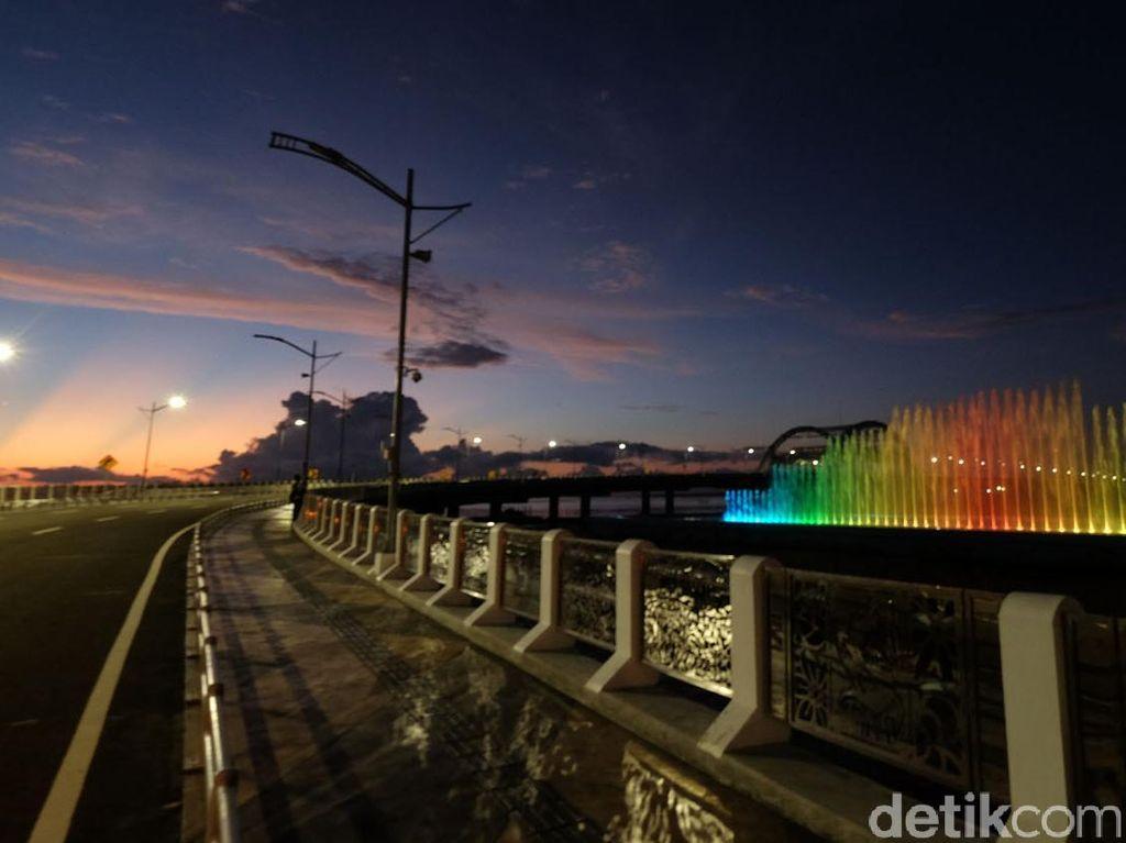 Jembatan Suroboyo dan Air Mancur Menari akan Diresmikan 9 Juli 2016