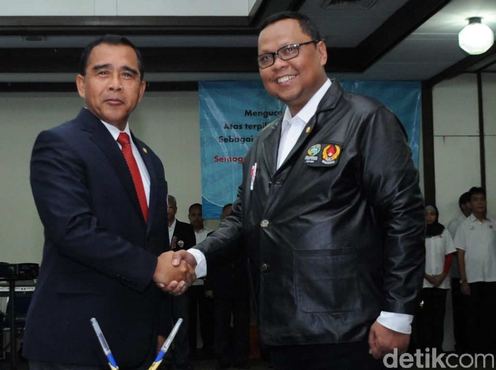 Lukman Edy Resmi Dilantik Ketua Umum PB PTMSI