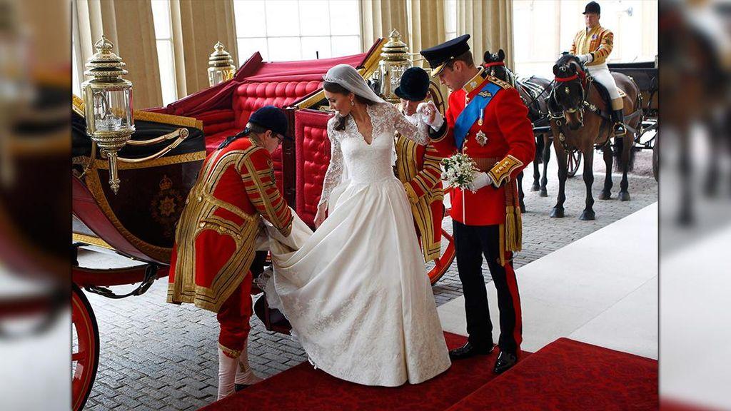 Alexander McQueen Dituduh Tiru Desain Untuk Gaun Pengantin Kate Middleton