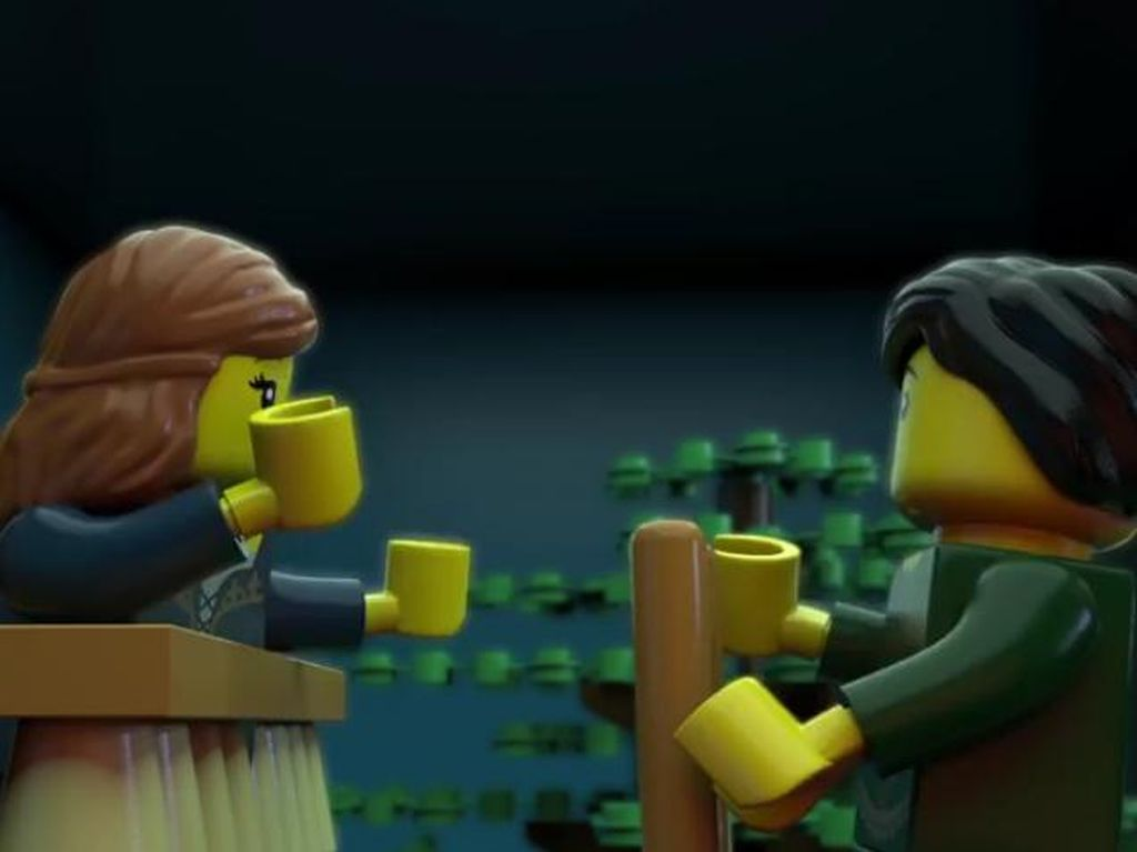 400 Tahun Shakespeare Dirayakan dengan Lego Romeo-Juliet