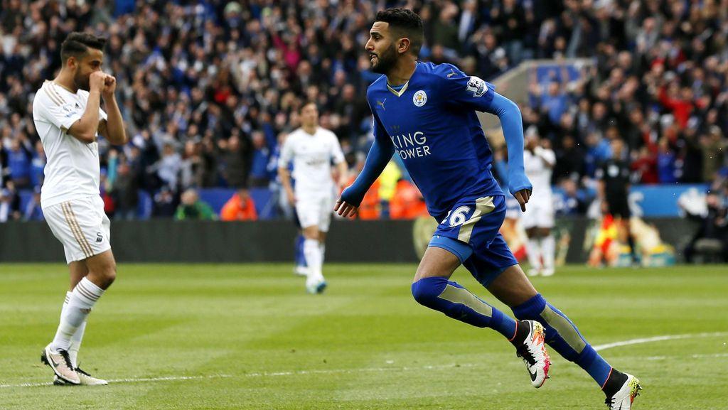 Kalahkan Swansea 4-0, Leicester Kokoh di Puncak