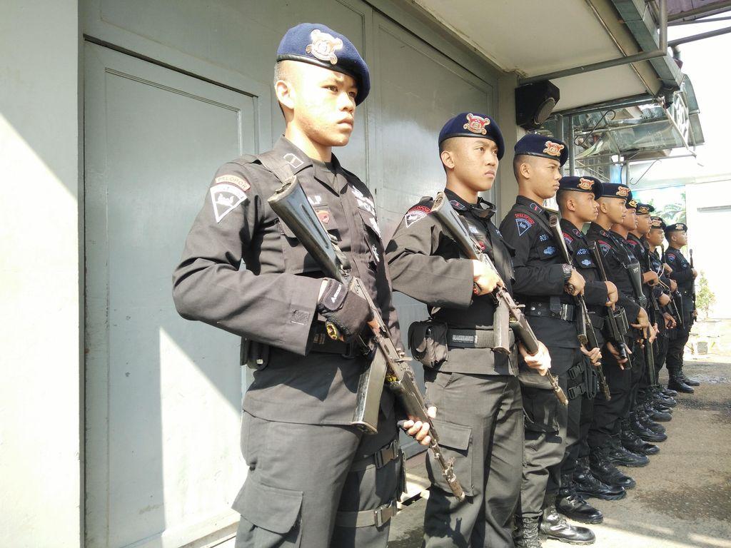 Suasana di Lapas Gorontalo Sudah Kondusif, Polisi Tetap Disiagakan
