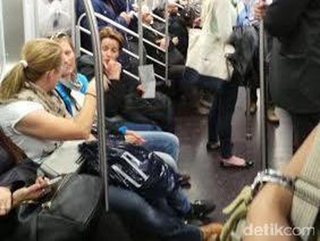 Tak Cuma di Jakarta, BAB Pernah Bikin Heboh di Subway New York