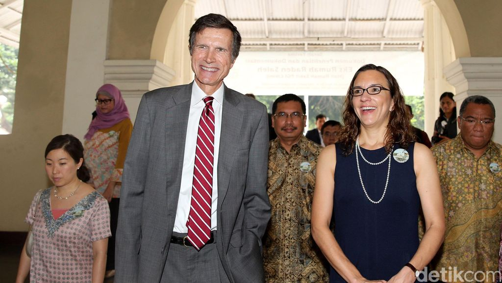 Dubes AS Kunjungi Situs Rumah Raden Saleh