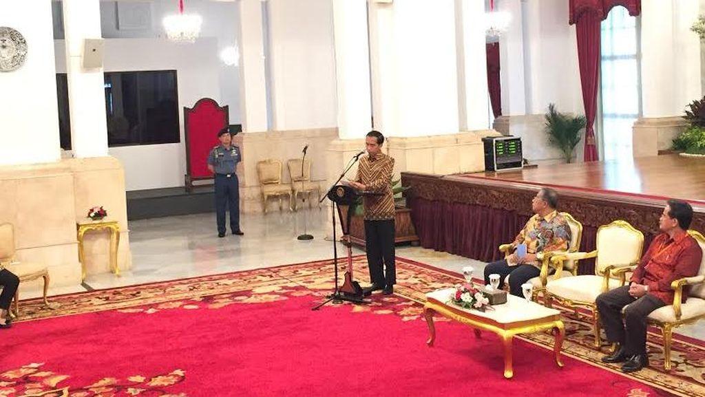 Jokowi: Tak Ada Lagi Proyek Cari Data di Kementerian! Setop, Setop, Setop