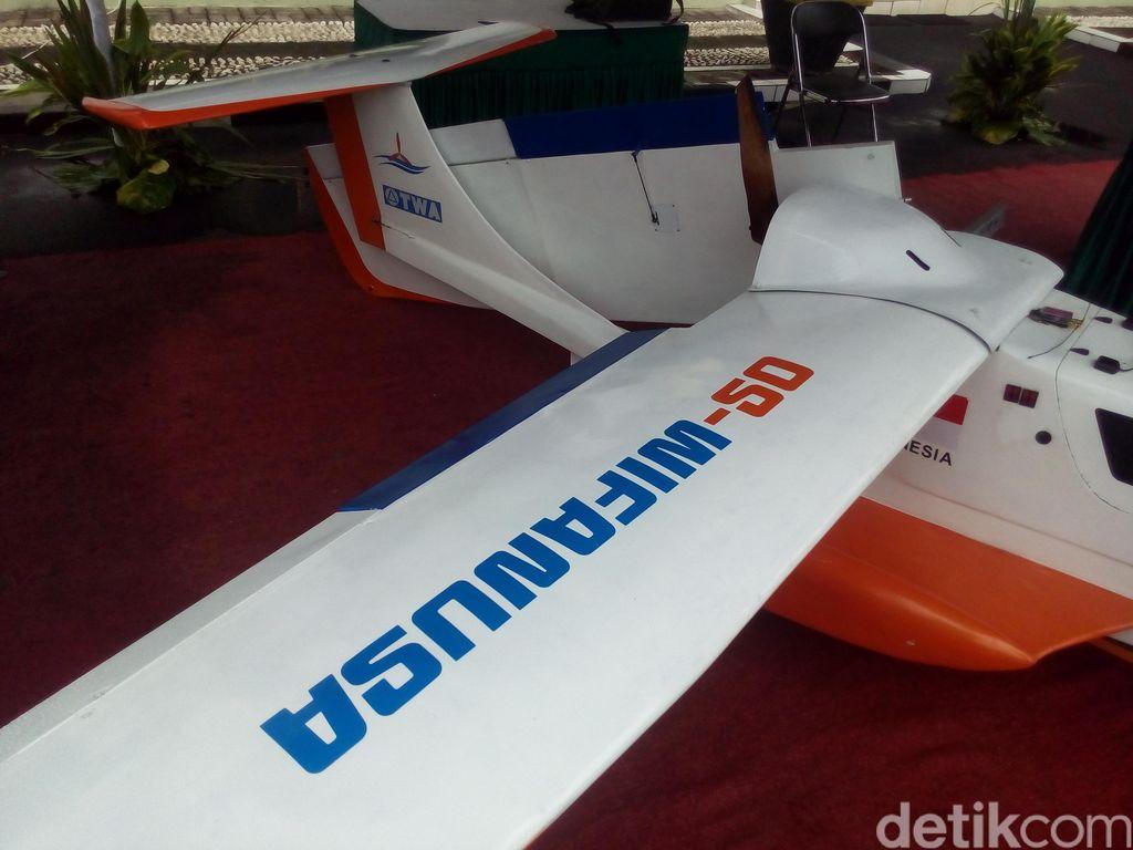 Drone Buatan Ongen @ypaonganan Dipajang di Pameran Direktorat Topografi TNI AD