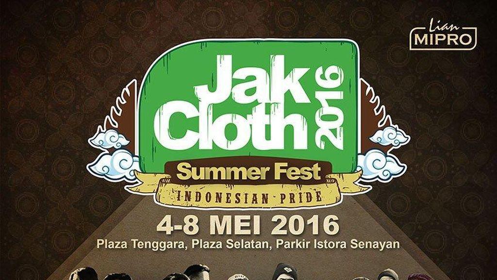 JakCloth Summer Fest 2016 Dimulai 4 Mei