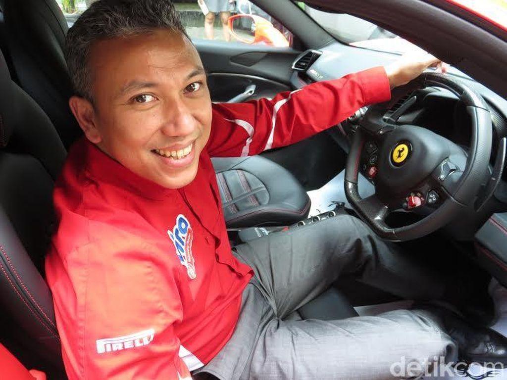 Kembali Turun ke Ferrari Challenge, Ini Target Renaldi Hutasoit