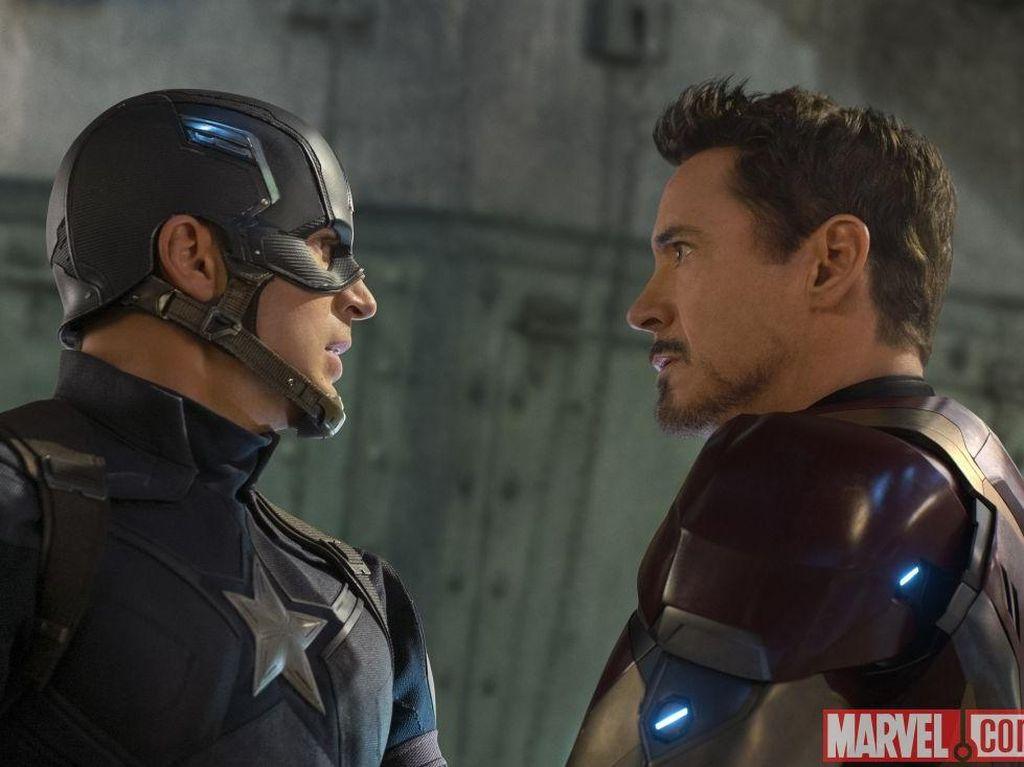 Bocor Syuting Avengers 4, Sinyal Kematian Captain America di Infinity War?