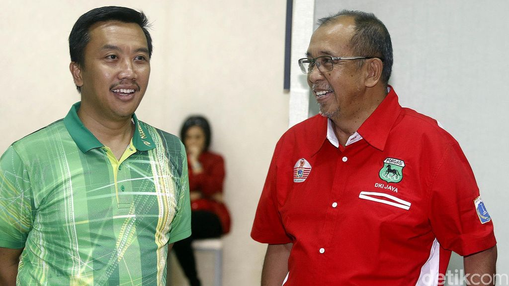 Ketum Pordasi DKI Jakarta Temui Menpora
