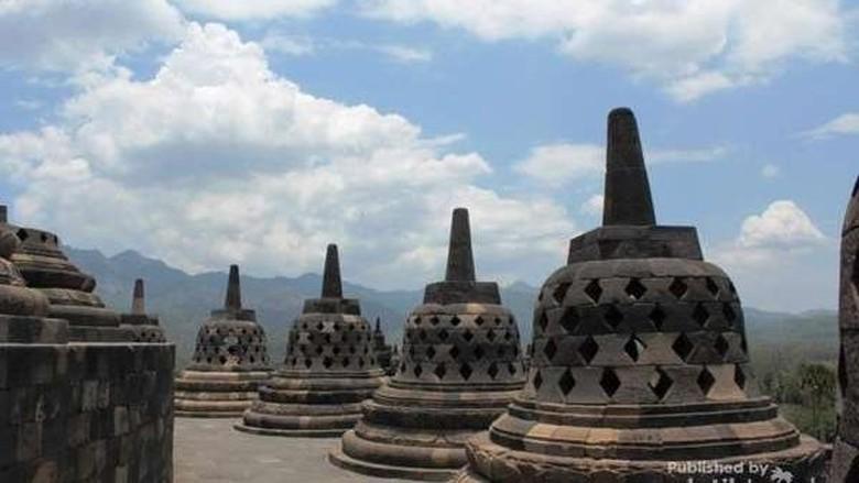 Foto: Candi Borobudur (Muhammad Ikhsan Burhanuddin/dTraveler)