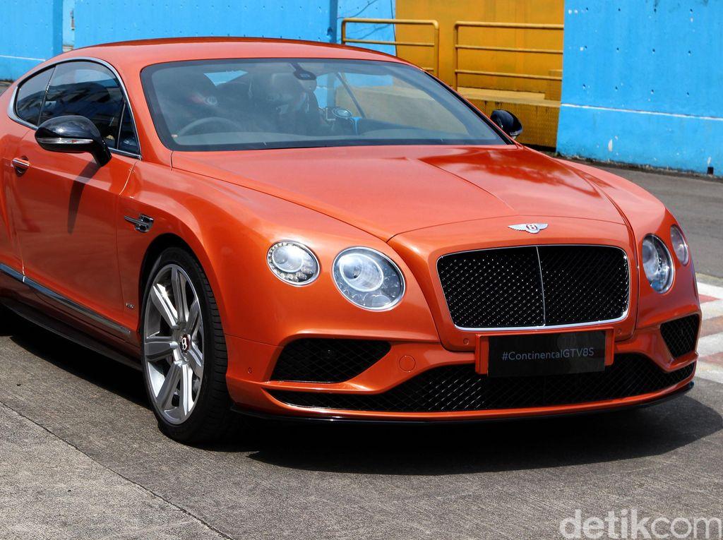 Sekitar 150 Mobil Bentley Tersebar di Indonesia