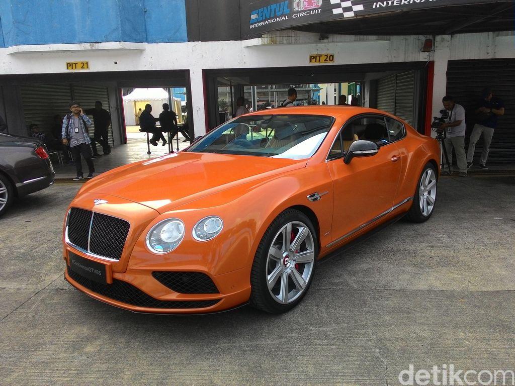 Alamat di Gang Sempit, Mobil Bentley Belum Bayar Pajak Ratusan Juta