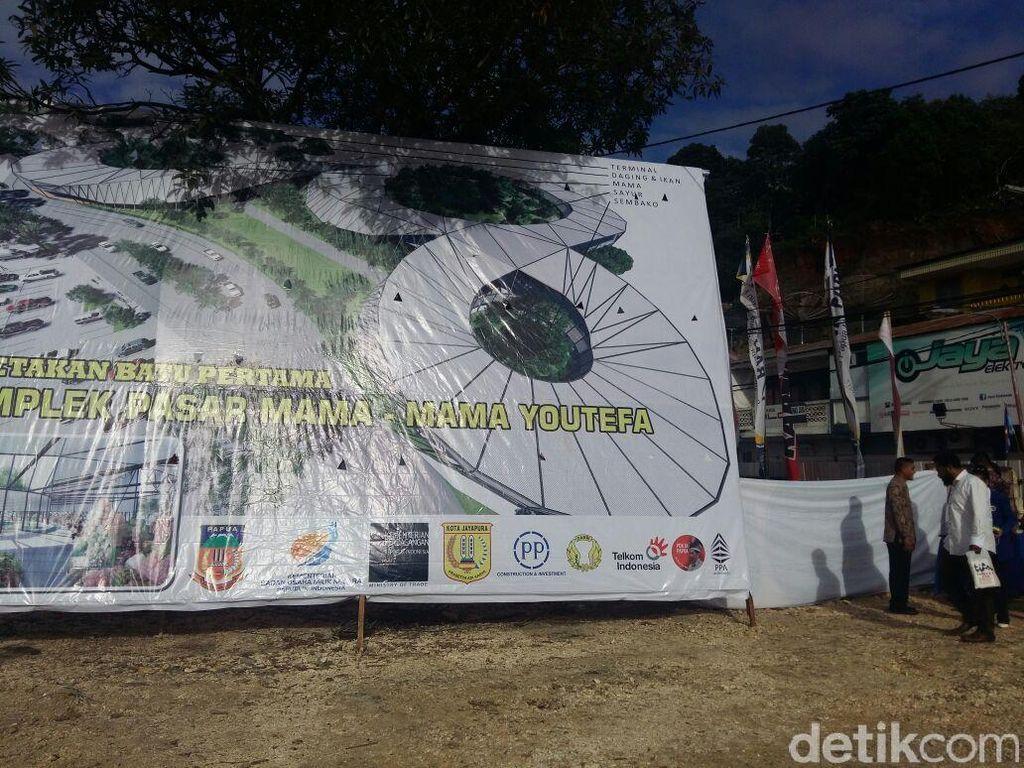 Dulu Jualan di Trotoar, Mama-mama Jayapura Senang Jokowi Bangun Pasar