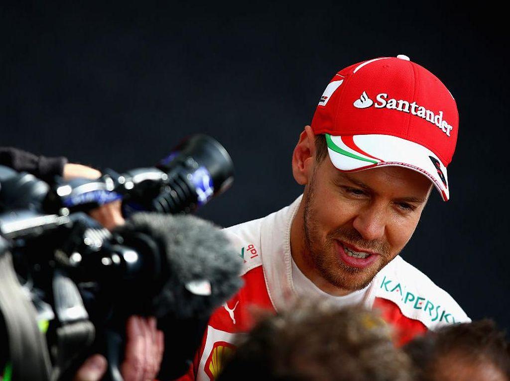 Vettel: Ferrari Masih Dalam Trek yang Benar