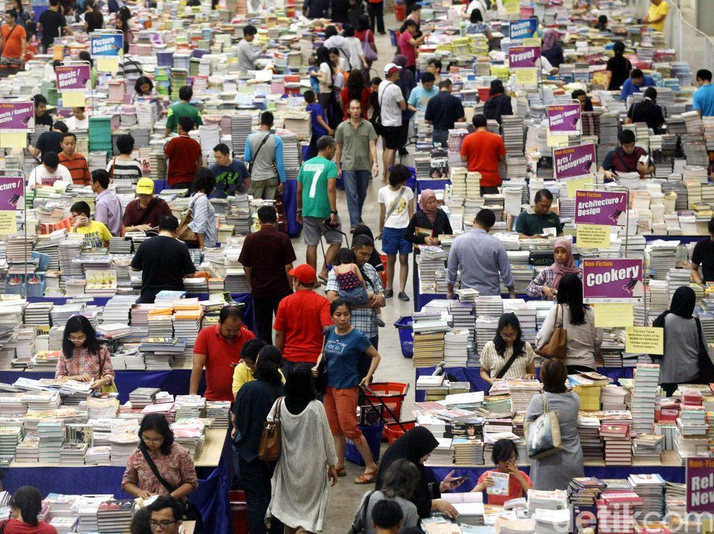 Diskon Besar-besaran, Jakarta Book Fair 2020 Digelar Online