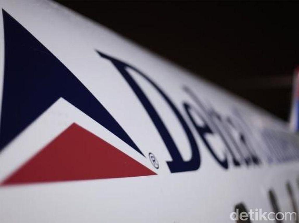 Maskapai Delta Akan Blokir Bangku Tengah Hingga Maret 2021