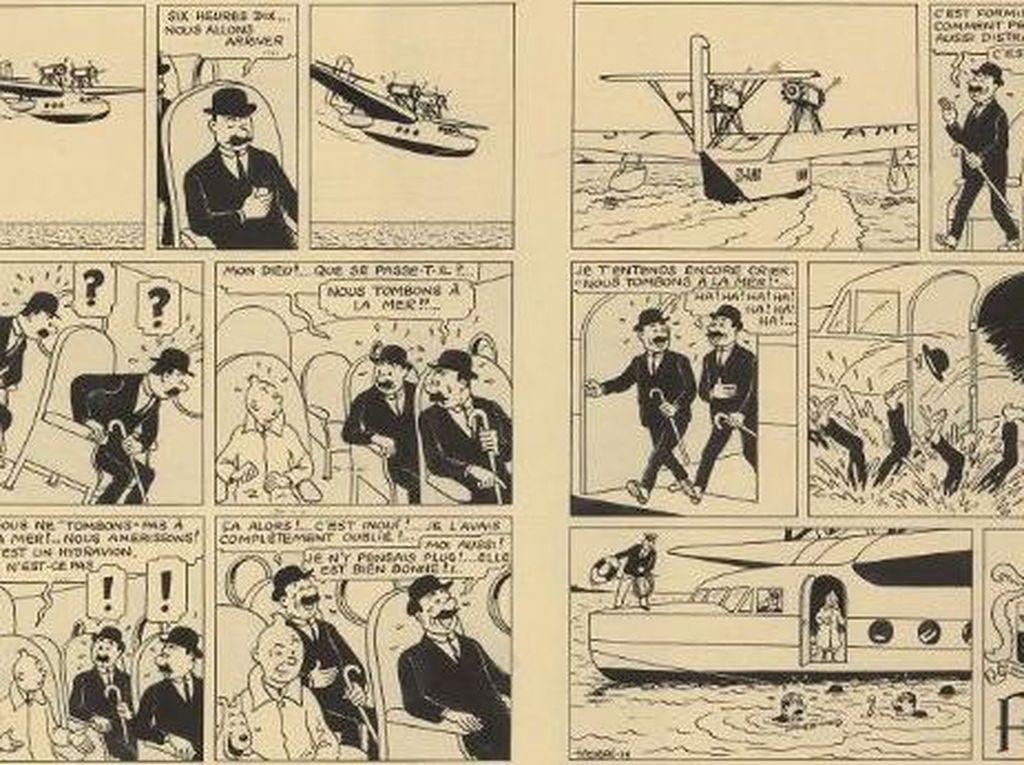 Komik Tintin Terjual Lebih dari Rp 15 Miliar