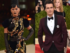 Rayakan Thanksgiving Bareng, Katy Perry-Orlando Bloom Bantah Isu Putus