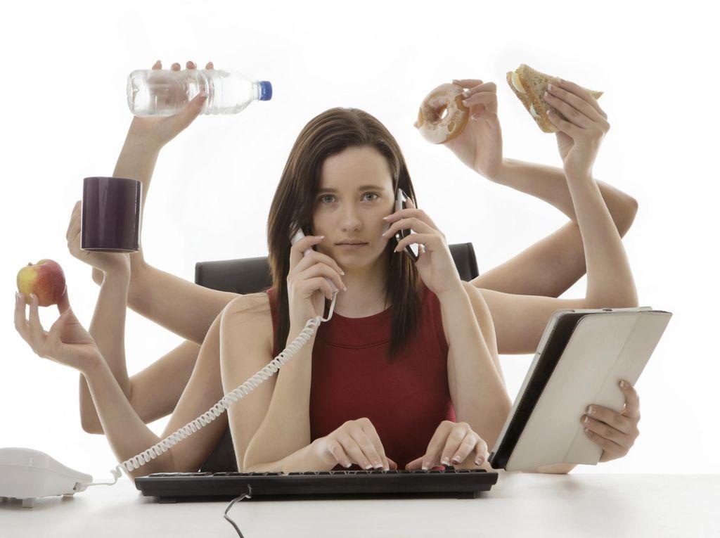 Waduh! Multitasking Ternyata Nggak Bagus untuk Memori Otak