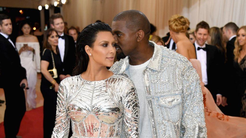 Cobaan Hidup Kim Kardashian dan Kanye West Selama Menikah