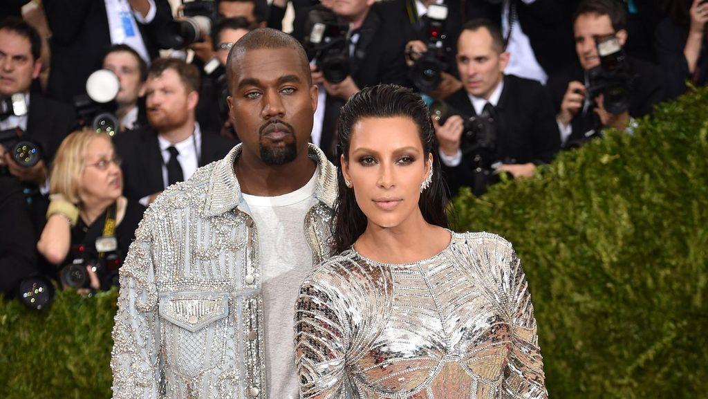 Pasca Dirawat karena Depresi, Kanye West Tinggal Terpisah dari Kim K