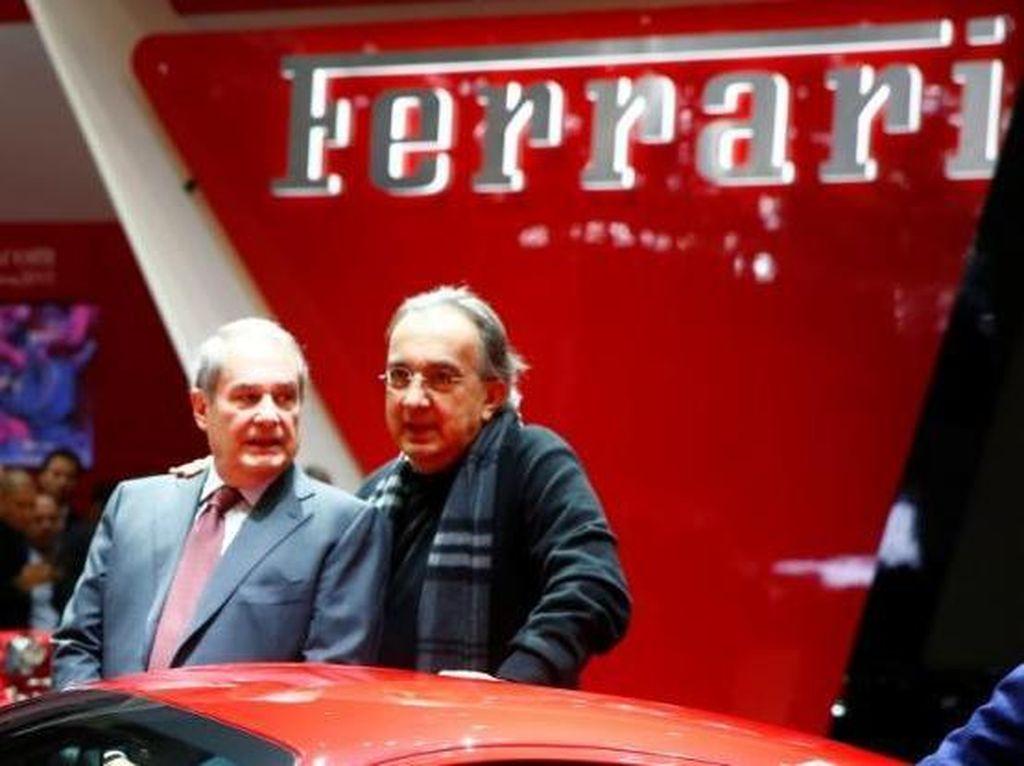 Sakit, Legenda Mobil Sergio Marchionne Mundur dari Ferrari dan FCA