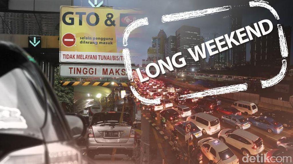 Long Weekend, Tol Jagorawi Arah Jakarta Macet 16 Km