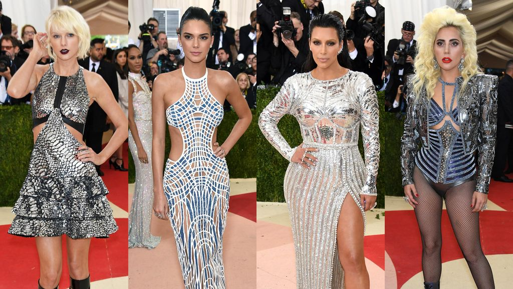 Hot Photo Highlight: Gaya Seksi dan Futuristik Para Artis di Met Gala 2016