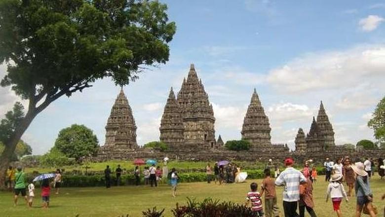 Candi Prambanan di Yogyakarta (Ari Es/dTraveler)