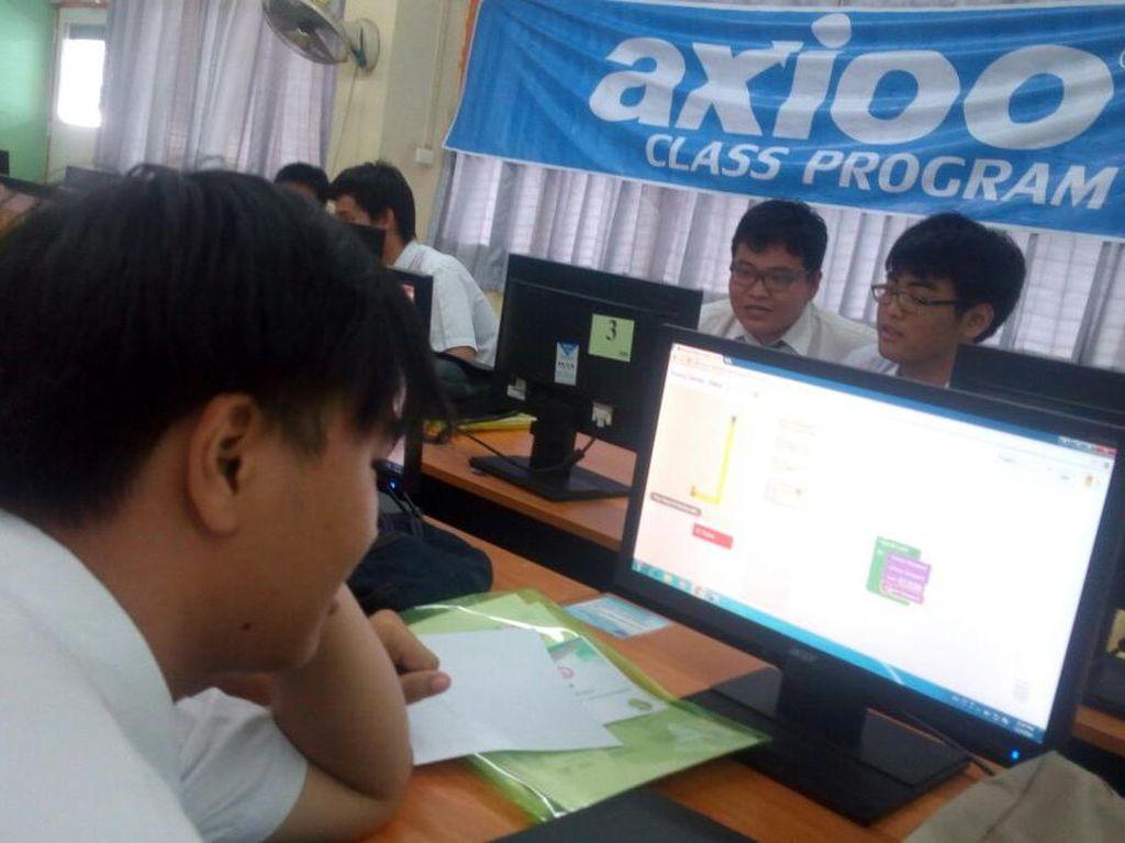 Pasar PC Lesu, Axioo Incar Anak Sekolahan
