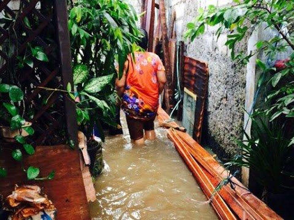 Hujan Datang, Banjir Terjadi di Dukuh Kramatjati