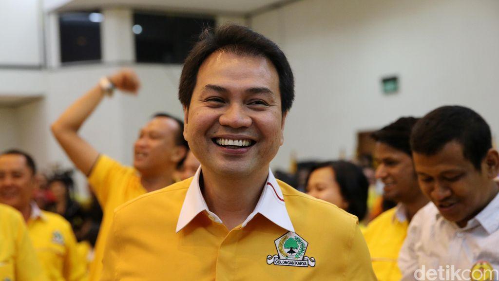 Momen Kedekatan Politik Setya Novanto-Aziz Syamsuddin