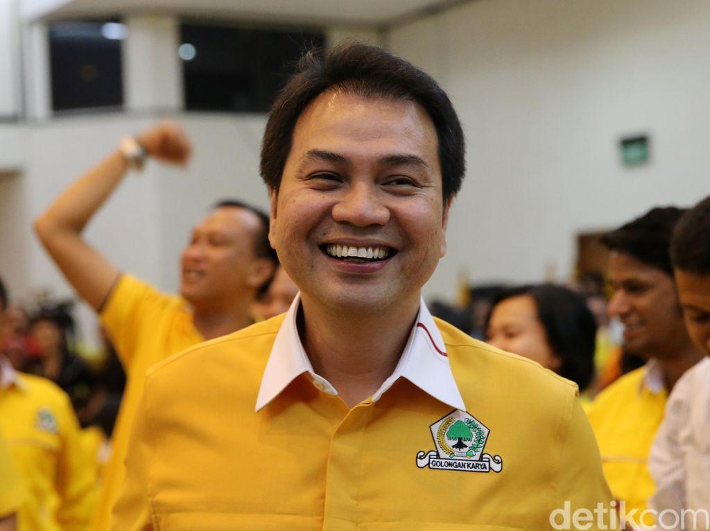 Golkar Jabar Sumpah Dukung Airlangga, Aziz Syamsuddin: Nggak Masalah