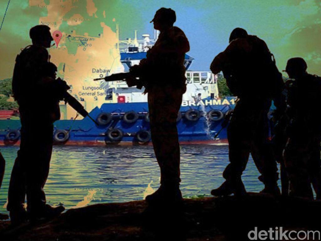 Tentara Filipina Selamatkan 2 WNI yang Disandera Abu Sayyaf