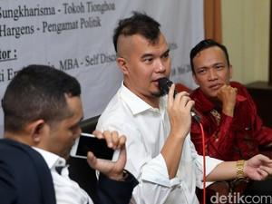 Ahmad Dhani Hadiri Diskusi Pilgub DKI Jakarta