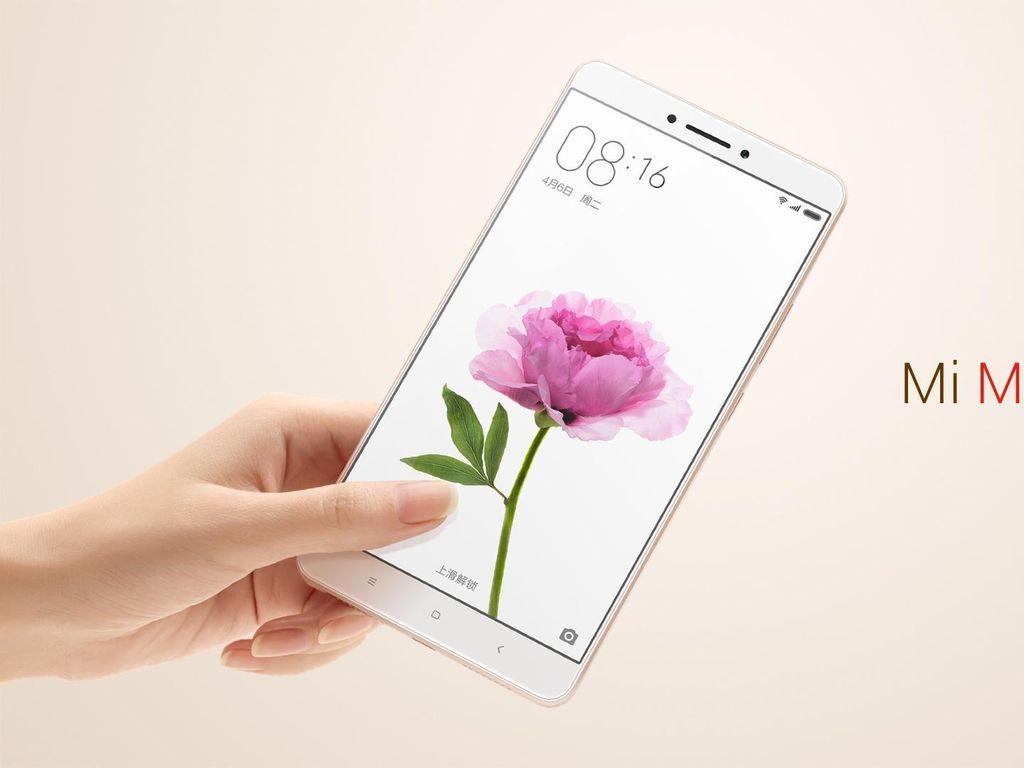 Pengapalan Xiaomi Mi Max Tembus 1,5 Juta Unit