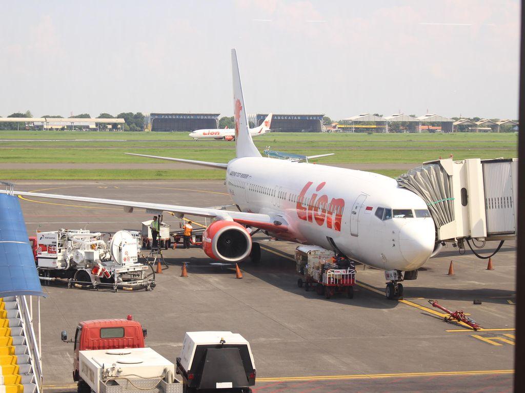 Kru dan Penumpang Lion Air yang Tergelincir di Gorontalo Selamat