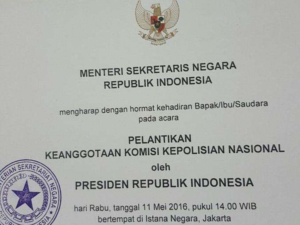 Jokowi Pilih 6 Orang ini Jadi Komisioner Kompolnas, Pelantikan Rabu Siang