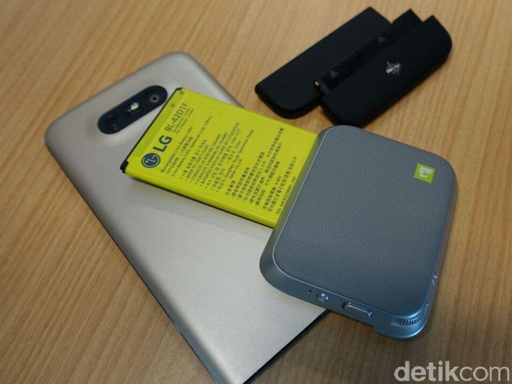 Ponsel Bongkar Pasang LG G5, Keren tapi Gagal