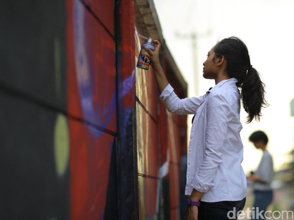 Bunga Fatia Harumkan Indonesia di Festival Grafiti ASEAN di Filipina
