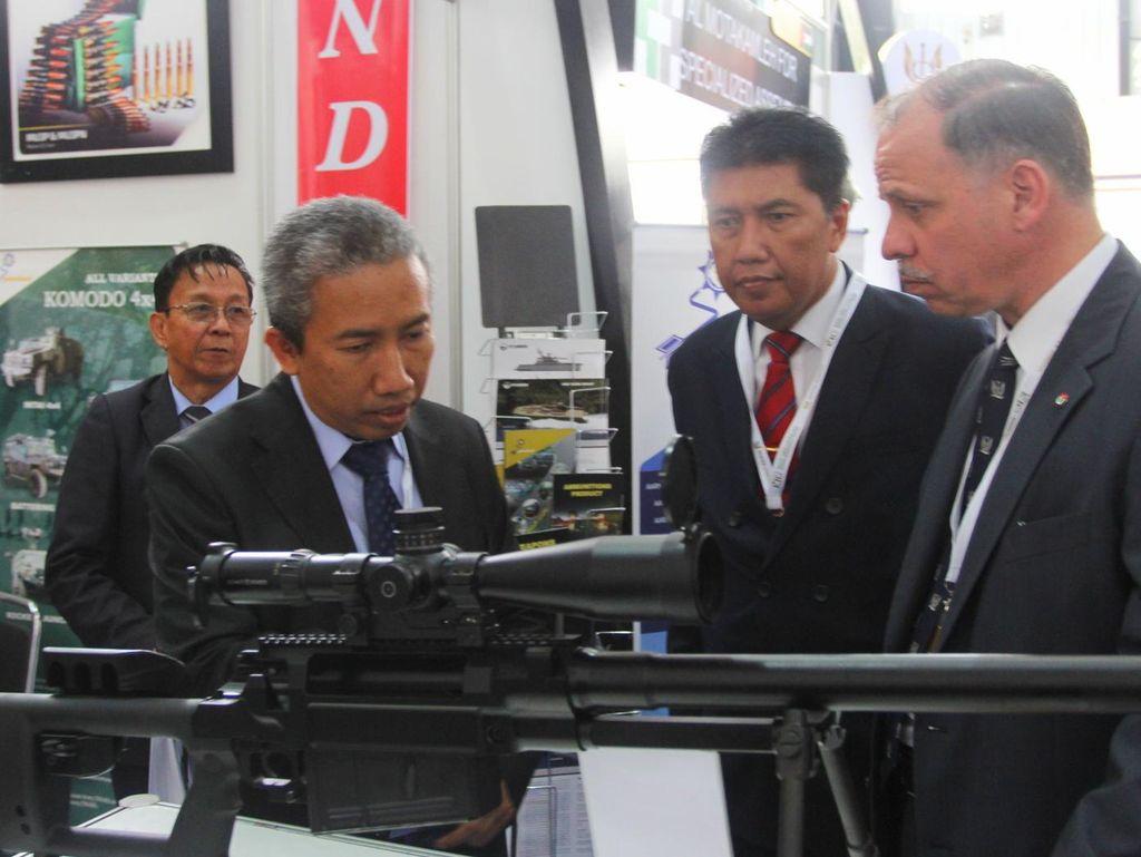 Dikagumi di Yordania, Senapan Sniper Rambo Pindad 100% Karya Insinyur RI