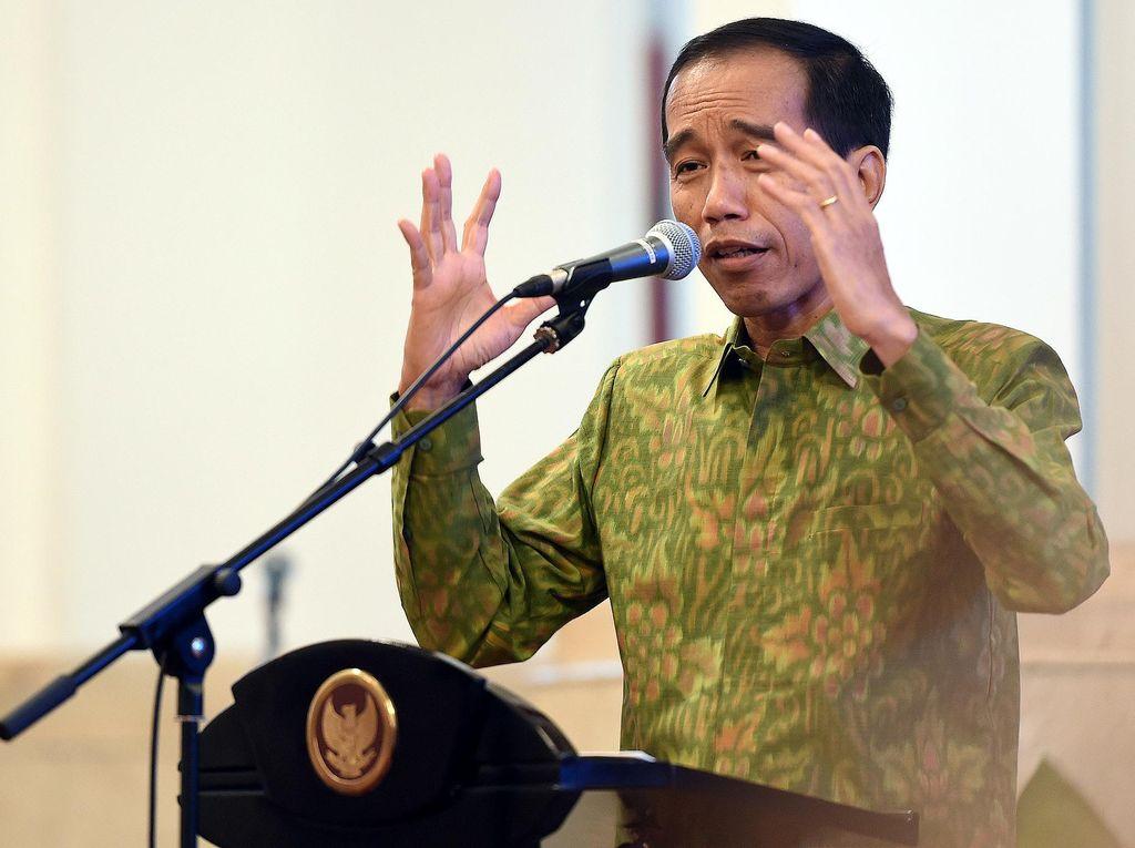 Jokowi Tutup Musrenbangnas 2016