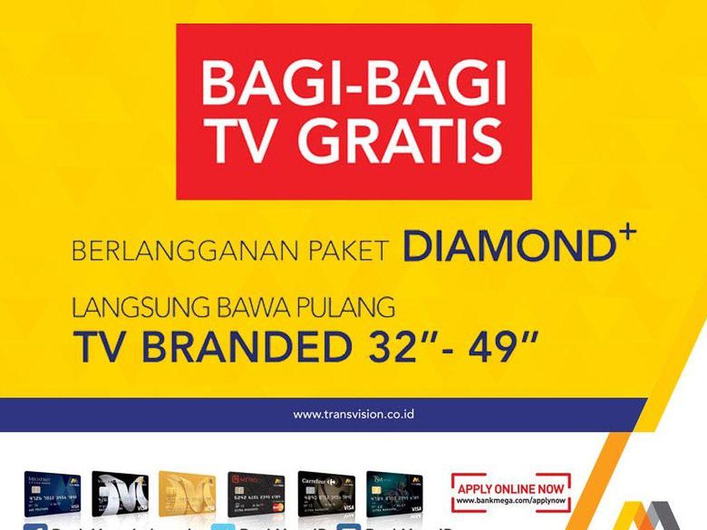 Ngapain beli TV kalau bisa Gratis! Langsung ke Transmart Carrefour saja