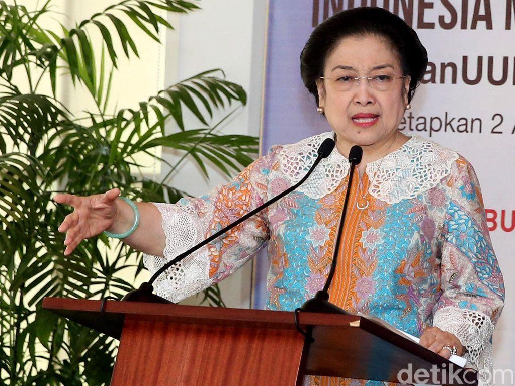 PDIP Apresiasi Gelar Doktor Kehormatan yang Diberikan ke Megawati