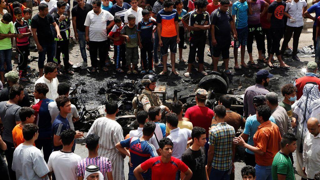 Korban Tewas Bom Bunuh Diri di Baghdad Capai 94 Orang